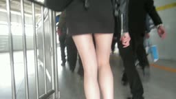 MVI_5471 包臀辣妹地铁抄底