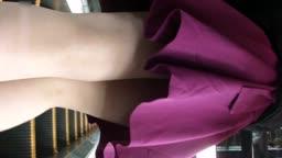 紫裙熟女和情夫商场亲热被抓拍
