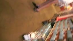 Leggy asian girl upskirt in shoe store